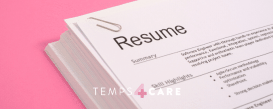 How to Customise Your CV For Temporary Work